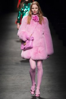 Gucci pink coat