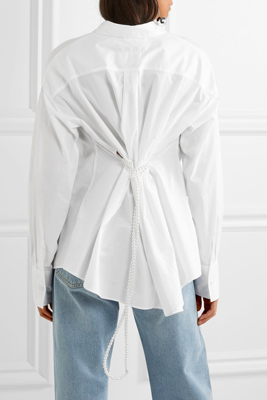 Maison Margiela's white shirt