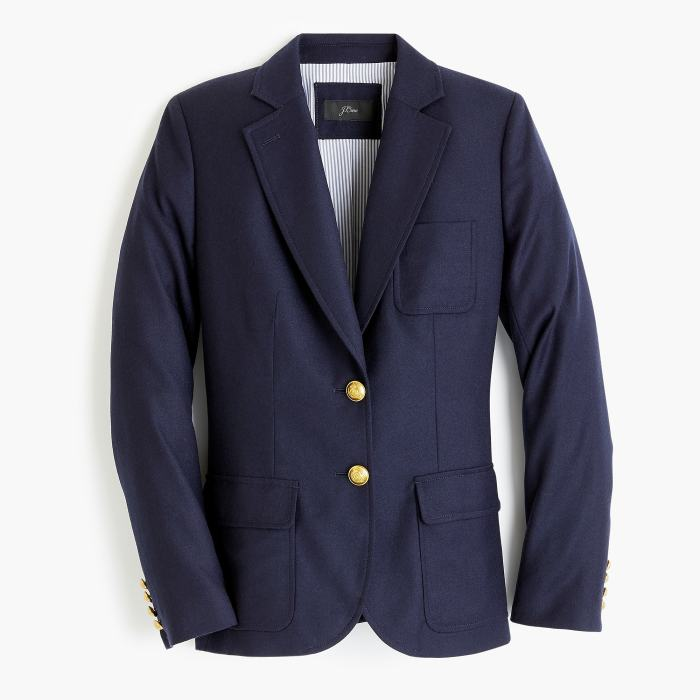 Legacy blazer in American wool